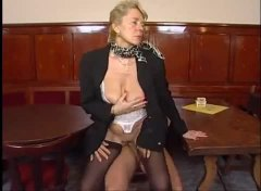 Alpha Porno Movie:Grandma in black stockings fuc...