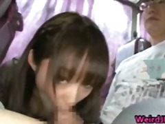 Crazy Asian girls have hot bus tour part4