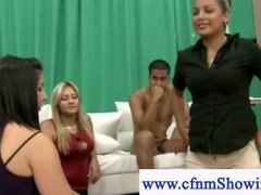 See: Cfnm girl learns how t...