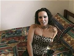 Nuvid Movie:Busty brunette amateur makes h...