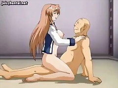 Sensual anime cutie ri... video