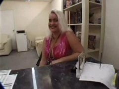 Mature blonde with nic... video