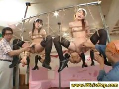 Thumb: Tied up Japanese maids...