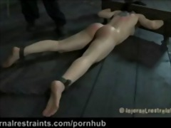 fetish, submission, rough sex, anal, kinky, squirting, cheyenne jewel, gag, torture, bdsm, skinny, jewel, piercing, s...