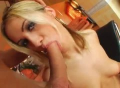 threesome, blonde, gaping hole