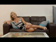 Keez Movies Movie:Blonde Eurobabe Viktorie is an...
