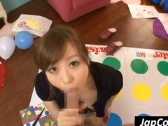 Nuvid Movie:Playful Japanese babe screw th...