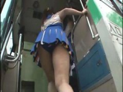 Horny Japanese cheerle... video