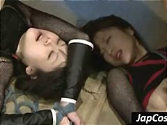 Tube8 Movie:Fetish scene with two asian gi...