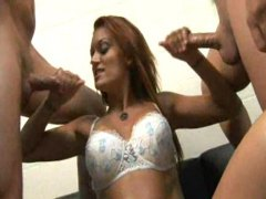Milking two lucky cocks - Redtube