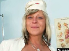 Filthy nurse milf...