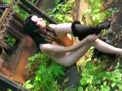 HardSexTube Movie:Gothic brunette having anal sex