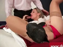 Secretary enjoys painf... video