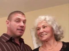 jizz, older, hairy, creampie, granny,