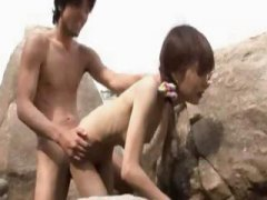 outdoor, asian, teen, skinny, beach,