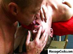 Nuvid - Two gay boys do some r...