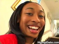 Thumb: Hot ebony babe Honeyco...