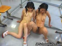 Asian female students ... video