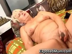 Tube8 Movie:Nasty mom feeling sexy playing...