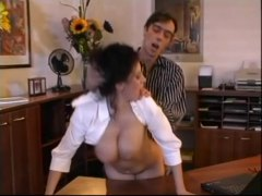Xhamster Movie:Beatrice busty secretary offic...
