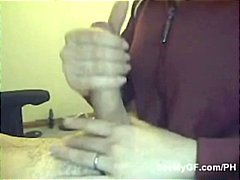 Busty girlfriend gives... video