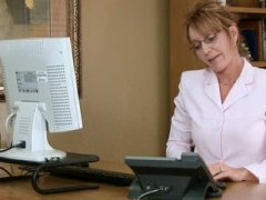 Mature office secretar... video