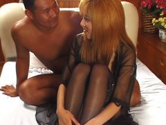 Redtube Movie:Shagging Japanese redhead