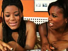Ebony shemale and some... video