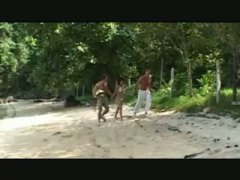 Sex in Forest thai girl video