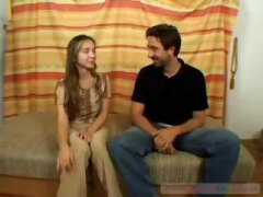 Nuvid Movie:Petite, young brunette teen wi...