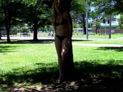 outside, amateur, nicki, flashing, public nudity