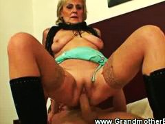 guy, old, from, behind, young, grandmother, mature, gran, fucked, slut