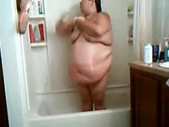 Thumb: SSBBW in the shower