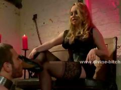 Incredible blonde mistress... - 04:00