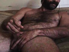 Hot Hairy Daddy Cums video