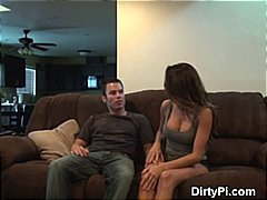 Thumb: Brunette Cheating Caug...