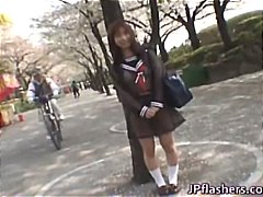 schoolgirl, amazing, part3, outdoor
