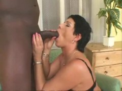 guy, mature, fishnets, chubby, stockings, black, hardcore, interracial,