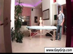 Gay boy goes in for ma... video
