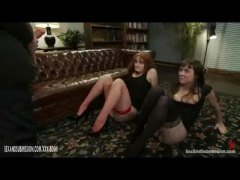 HardSexTube Movie:Redhead babe in lingerie gets ...