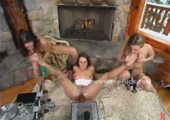 See: Lesbian babes playing ...