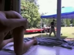 Tube8 Movie:Teen squirting in front of gar...