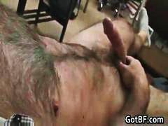 DrTuber - Very Hairy Guy Jerking...