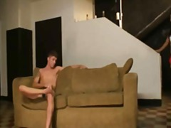 Stud fucks leggy sexy ... video