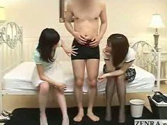 Two Japanese milfs faw... video