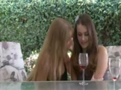 Cute girl gets seduced... video