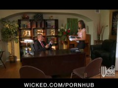 office, secretary, young, small-tit, babe