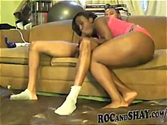 Various clips of ebony... video