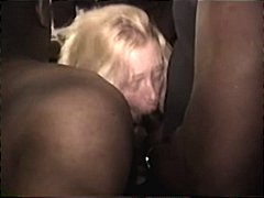 interracial, black, amateur, gangbang,