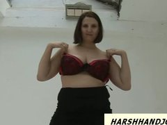 Tube8 Movie:Strange chubby gal gives femdo...